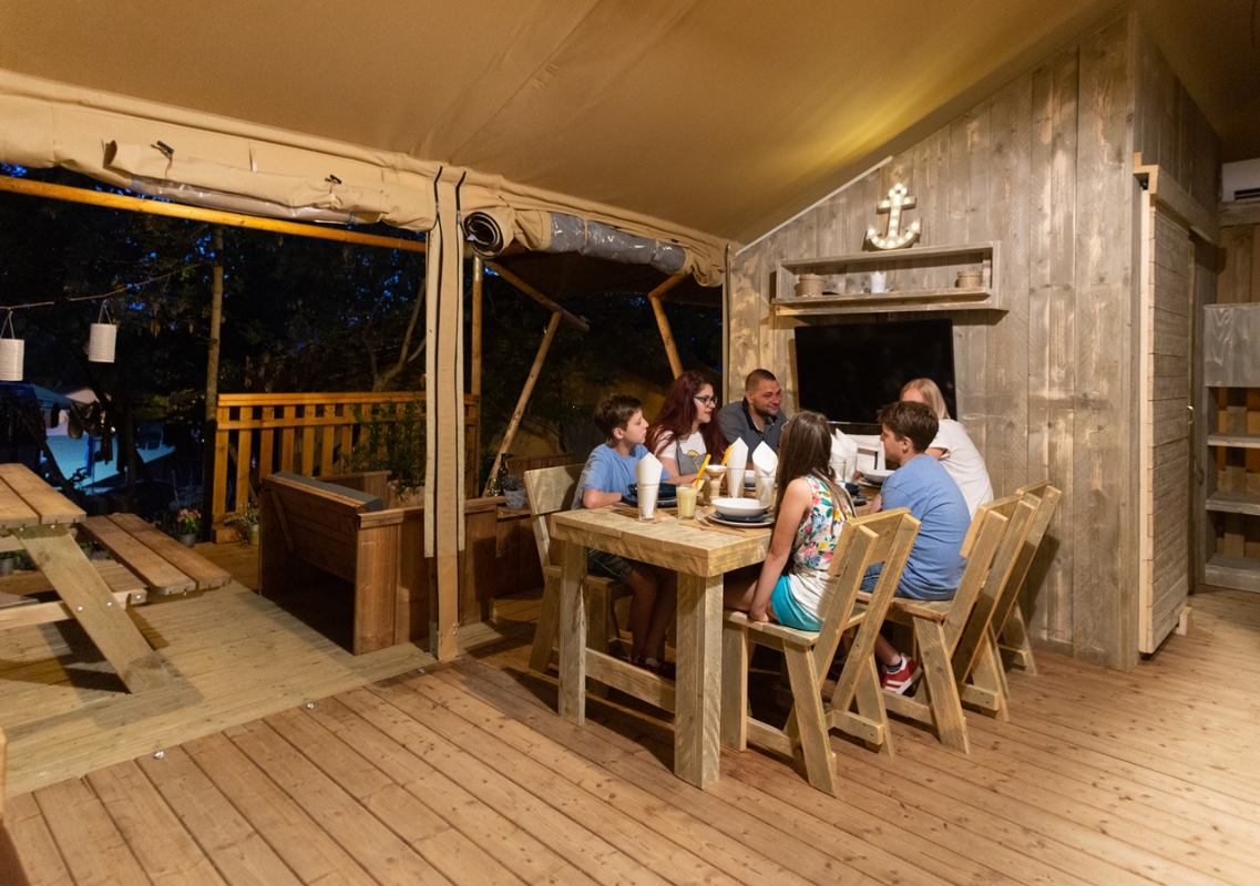 Safaritent Woody Tent