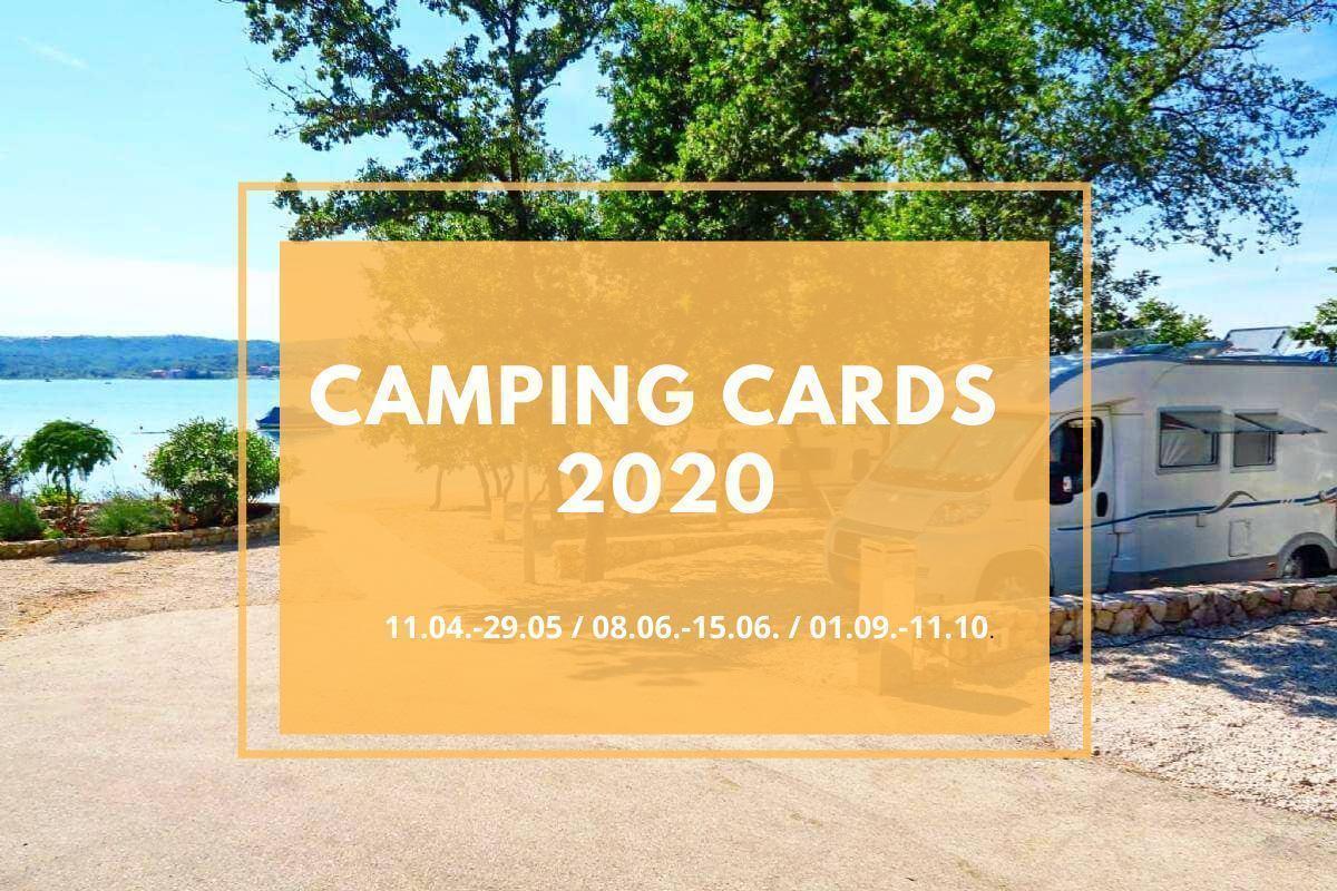 KAMPING KARTICE- KAMP SLAMNI